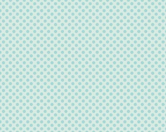 Cordelia Fabric D - Fairy Garden by Riley Blake -C7725 - Blue - Dot in Blue