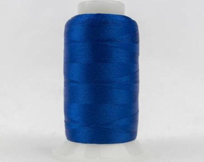 WonderFil - Polyfast Polyester 40wt 1000m Bright Blue # P1-2133