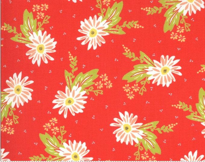 Moda - Happy Days by Sherri & Chelsi - Carnation Geranium - 37600 14