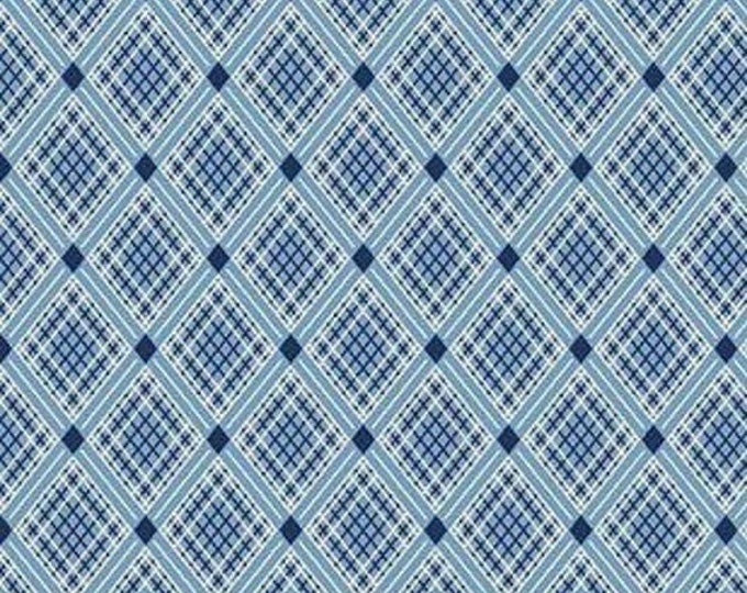 CLEARANCE - Penny Rose Fabrics - Sorbet by Leonie Bateman - C6716 Blue