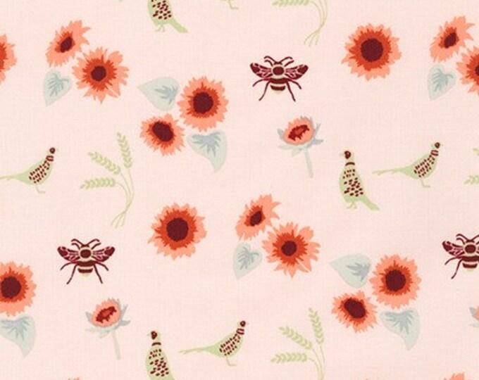 Jumanji Fabric D - Buffalo Flats by Violet Craft - Shell Floral - AVL-19250-376