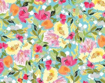 Riley Blake Fabrics - Sweet Melody by Lila Tueller - Blue (C8400)