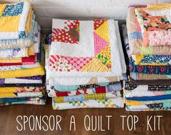 Heart Builder Quilt Top Kit - Sponsorship