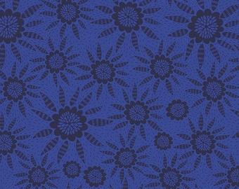 Free Spirit Fabrics - Second Nature by Anna Maria Horner - Joy in Royal (PWAM010) - Modern Maker Box