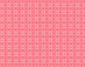Juliet Fabric D and Binding - Robert Kaufman Penny's Dollhouse by Darlene Zimmerman - ADZ-17961-122 - Camellia