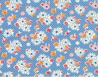 CLEARANCE - Moda - Sweet Harmony by American Jane - 21754 13 - Blue Small Floral