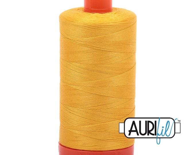 50 Wt AURIFIL - Yellow 2135 - 1300M Cotton Quilting Thread