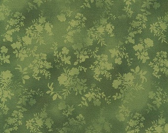 Mahjong Fabric E - Surrey Meadows for Robert Kaufman - Green - SRKD-18927-7