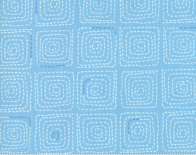 Tiffany Fabric E - Breeze by Zen Chick for Moda - Stitched Sky - 1693-14