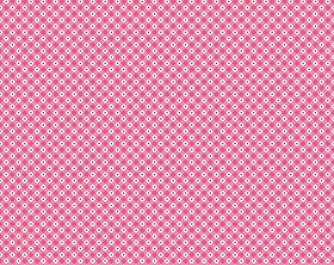 CLEARANCE - Riley Blake - Teddy Bear's Picnic by Melly & Me - C6056 pink