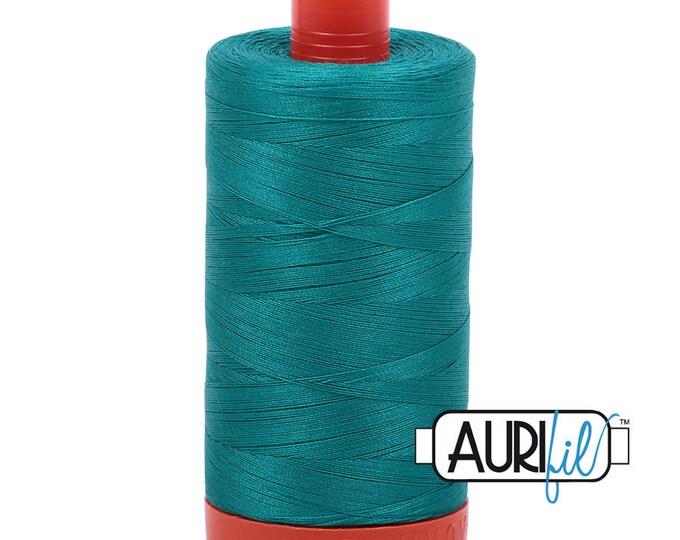 50 Wt AURIFIL - Jade 4093 - 1300M Cotton Quilting Thread