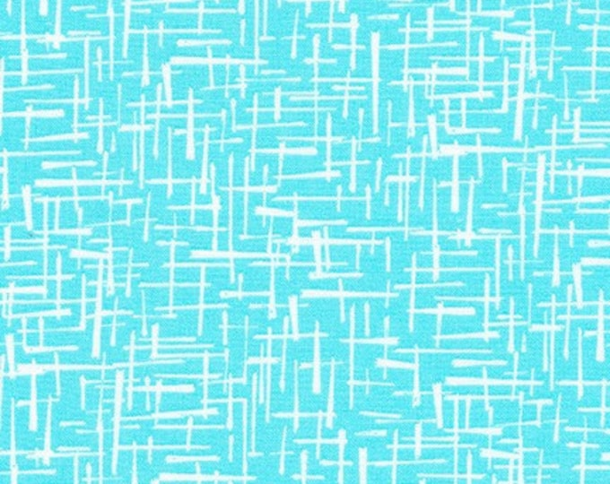 Bewitched Fabric D - Modern Classic by Violet Craft for Robert Kaufman - Azure - AVL-18710-64