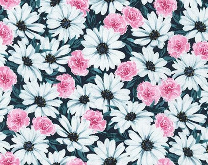 Robert Kaufman Fabrics - Daisy Made by Wishwell - WEL-19423-213 TEAL
