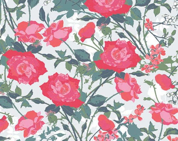 Art Gallery Fabrics - Picturesque by Katarina Roccella - Rosemantic Trellis Bright - PIC-29450