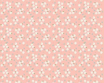 Riley Blake Fabrics - Azure Skies by Simple Simon - C8155R BLUSH (Sophia Fabric B)