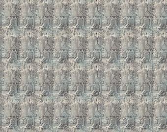 One Yard Cut - Urban Grunge by Northcott Fabrics - 22678 Grey-  Quilters Cotton
