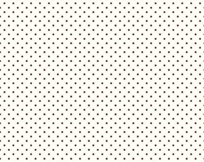 CLEARANCE - Riley Blake - Le Creme Dots - C600-90 Brown