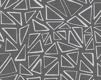 Robert Kaufman Panache - Dark Grey Triangles