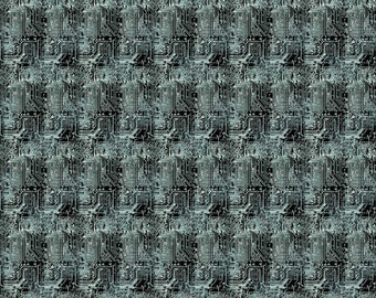 Northcott Fabrics - Urban Grunge - 22678 - Black - Modern Maker Box