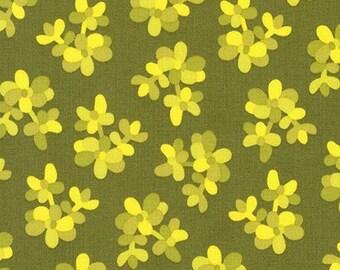 Robert Kaufman Fabrics - Terrarium by Elizabeth Hartman - Wasabi (AZH-17280-371) - Blenders