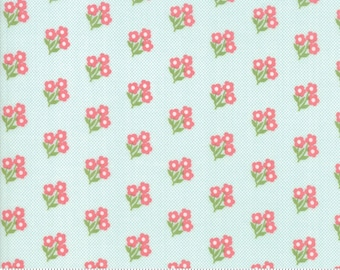 Moda - Lollipop Garden by Lella Boutique - 5082 15 - Peach Small Floral