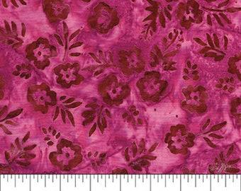 Banyan Batiks - Baralla - Magenta Floral - 80314-28