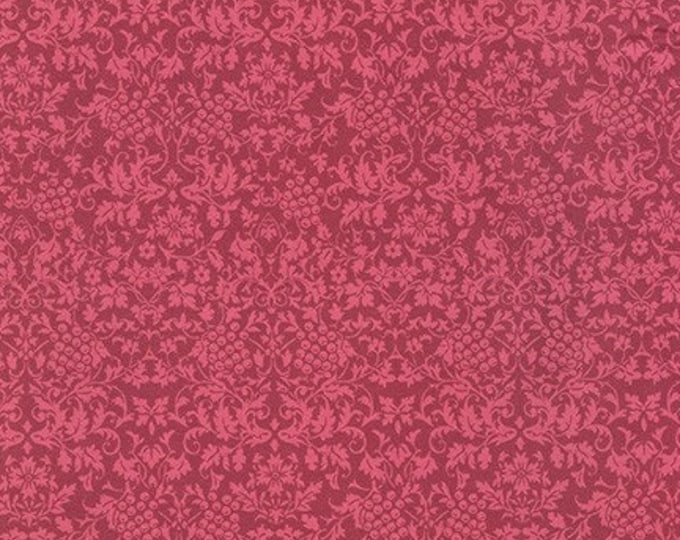 Mahjong Fabric B and Binding - Surrey Meadows for Robert Kaufman - Berry - SRKD-18922-233
