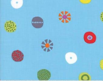 CLEARANCE - Boardwalk Fun #6 - Moda Hey Dot Candy Blue (1602 14)