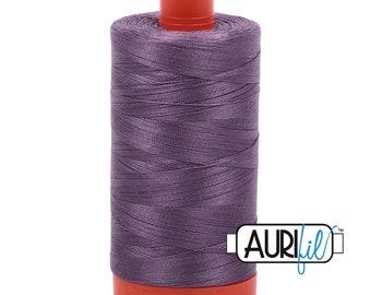 50 Wt AURIFIL - Plumtastic 6735 - 1300M Cotton Quilting Thread (MK50SP2423)