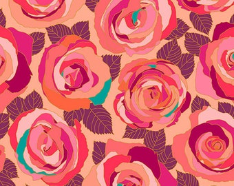 Andover Fabrics - Mosaic by Shannon Brinkley - Radiance Mosaic Roses (A-8880-E) - Modern Maker Box