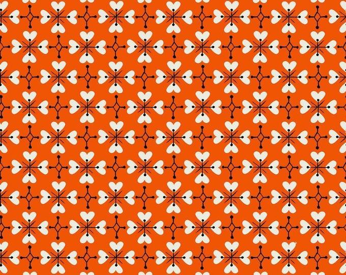 Moda - Smol by Kimberly Kight for Ruby Star Society - Coeur De Fleur Warm Red - RS3018-14
