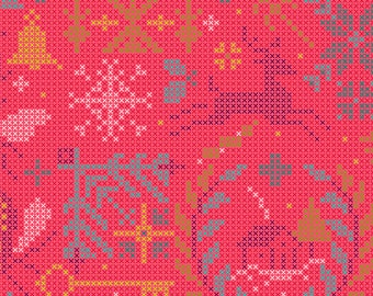 Andover Fabrics - Holiday by Alison Glass - 9117 - E - Holiday / Seasonal