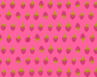 Andover Fabrics - Road Trip by Alison Glass - Apples in Sharp (A-8901-E) - Blender