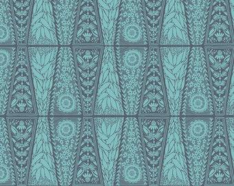 Free Spirit Fabrics - Second Nature by Anna Maria Horner - Dresden Lace in River (PWAM008) - Modern Maker Box