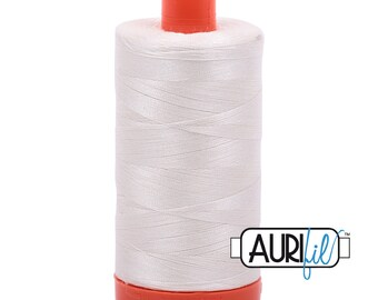 50 Wt AURIFIL - Sea Biscuit 6722 - Mako Made in Italy 1300m Quilt Cotton Quilting Thread (MK50SC6)