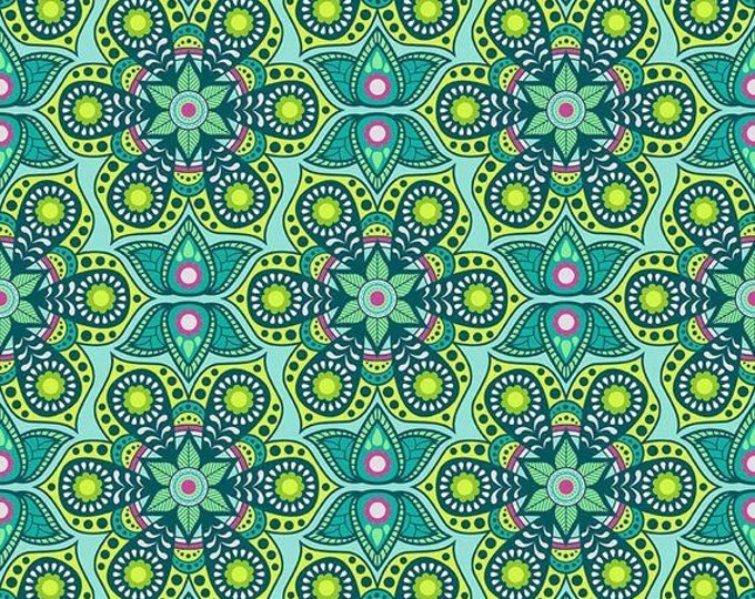CLEARANCE - Riley Blake - Flit and Bloom by Patty Young - C6531 Teal