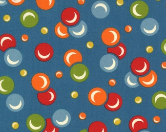 Moda - It's Elementary by American Jane - Blue Marbles - 21785-17