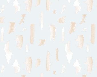 Andover Fabrics - Mosaic by Shannon Brinkley - Fog Brushstrokes (A-8884-C) - Modern Maker Box