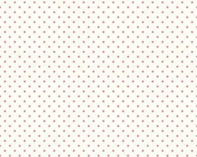 CLEARANCE - Riley Blake - Le Creme Dots - C600-70 - Hot Pink