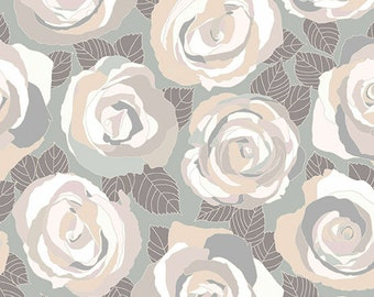 CLEARANCE - Andover Fabrics - Mosaic by Shannon Brinkley - Stone Mosaic Roses (A-8880-C) - Modern Maker Box