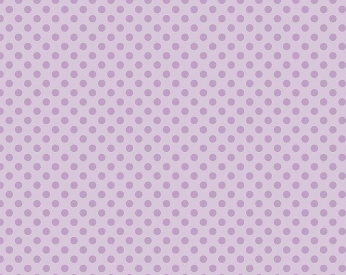 CLEARANCE - Riley Blake - Small Dots - C420-120 Lavender
