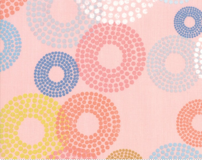 Tiffany Fabric C - Breeze by Zen Chick for Moda - Dottie Circles Coral - 1690-17