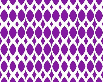 Contempo by Benartex - Gridwork - Diamond Ovals Purple - 206814.68 - Blender