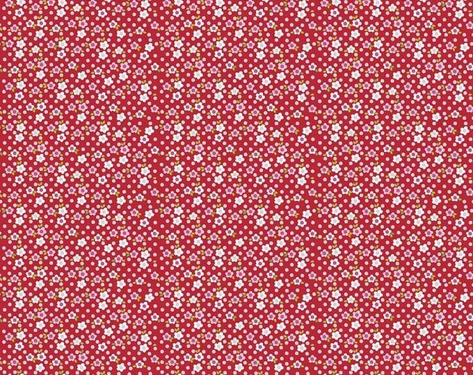CLEARANCE - Riley Blake - Fresh Market by Bella BLVD - C5313 Red