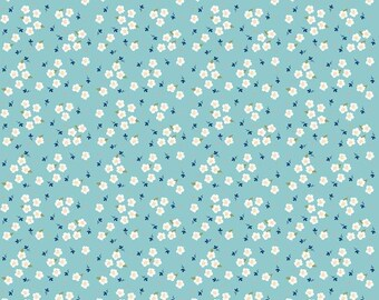 Riley Blake Fabrics - Azure Skies by Simple Simon - C8155R BLUE (Sophia Fabric C)