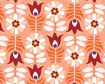 Midsommar by FIGO - Peach Tulips- 90130.56 - Floral
