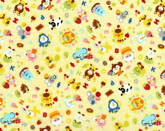 RJR Fabrics - Mofpof - Party Time Banana  (3290-001) - Juvenile