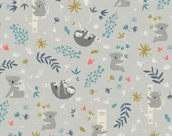 Riley Blake Fabrics - Joey by Deena Rutter - C8490 - Grey (Juvenile)