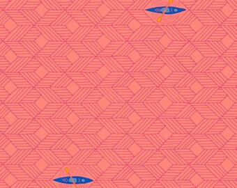 Windham Fabrics - Favorite Things by Sassafras Lane - Coral Canoes