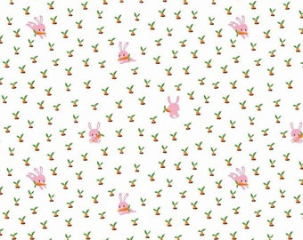Riley Blake Fabrics - Gnome and Gardens by Shawn Wallace - C7893 - WHITE